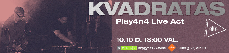 Kvadratas | Play 4n4 Live Act