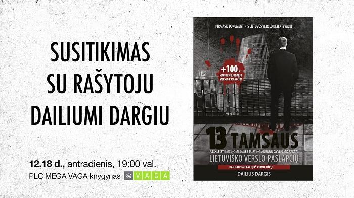 Susitikimas su Daliumi Dargiu Kaune