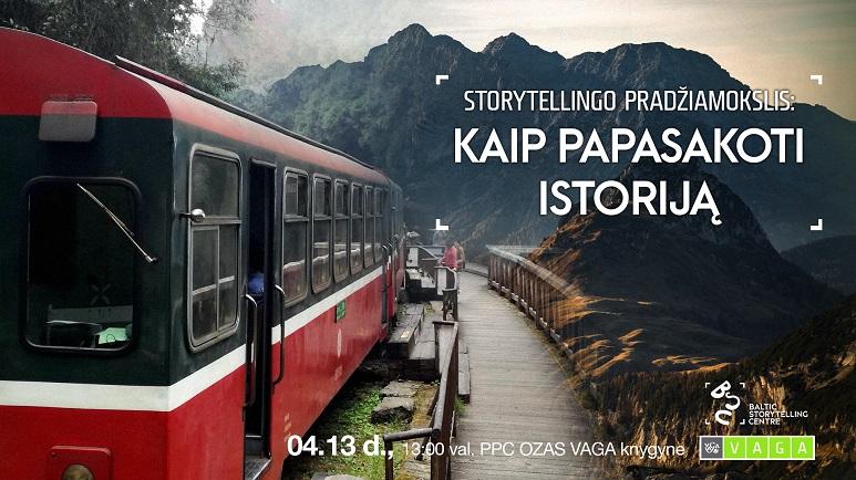 Storytellingo pradžiamokslis: kaip papasakoti istoriją