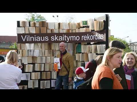 """Projektas """"Vilnius skaito"""""""
