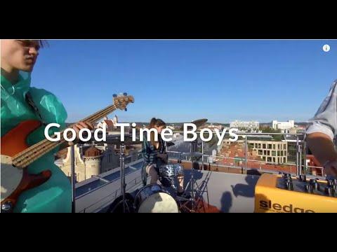 VAGA TV muzikinis projektas: Good Time Boys